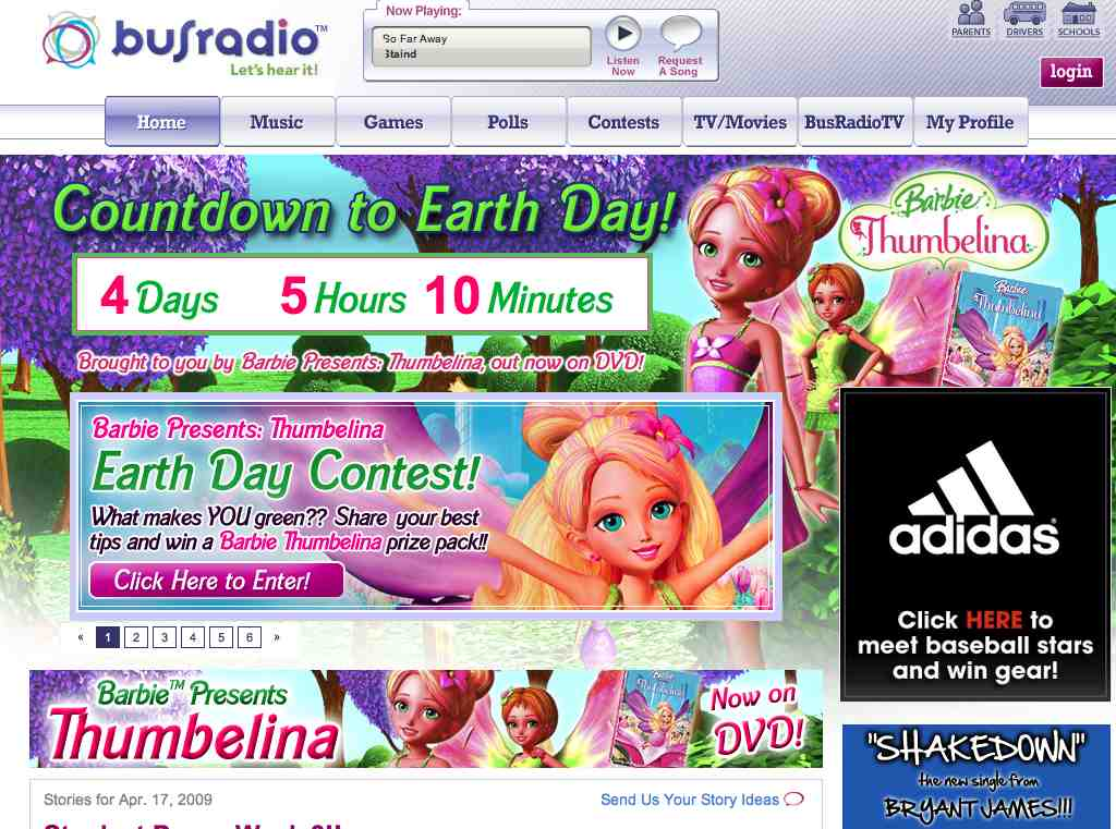 Using Earth Day To Sell More Barbies