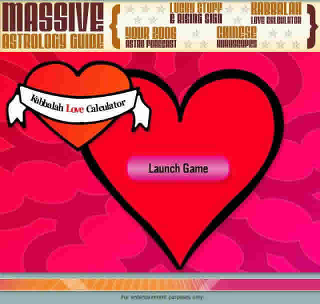 Love Calculator « Obligation